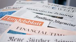 Zeitungen. Foto: Tilman Schenk